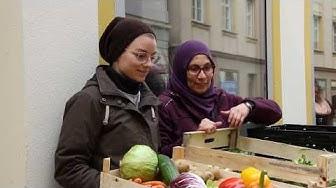 Verteilerstation Ansbach rettet Lebensmittel vor der Tonne | FrankenSein