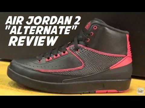 d92087d089ff07 Air Jordan 2 Alternate 87 Sneaker Review - YouTube