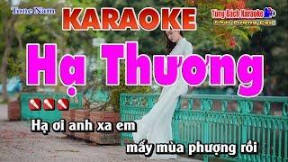 Hạ Thương - Karaoke Nhạc Sống Tùng Bách