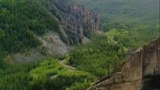 Якутия. Река Лена, ленские столбы