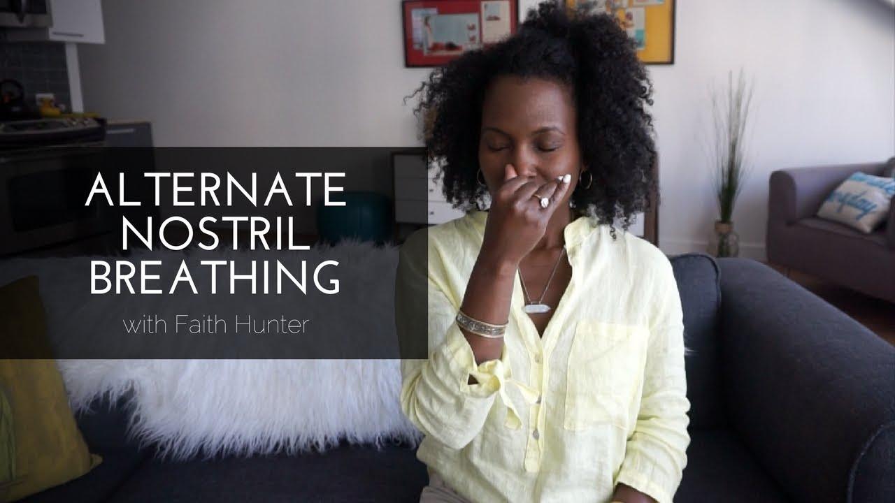 Alternate Nostril Breathing | Yoga Breathing with Faith Hunter