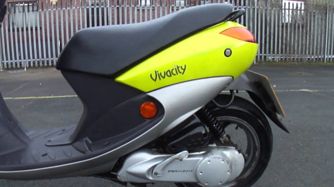 2001 Peugeot Vivacity 50 Scooter Learner Moped 50mph 2