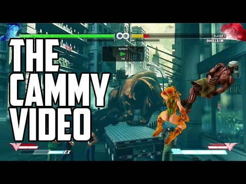 Street FIghter 5 Cammy Combo Video