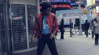 Zed Zilla Road to Riches Documentary Pt 2 - Mobbed! NYC, Michael Jackson and No Beer!