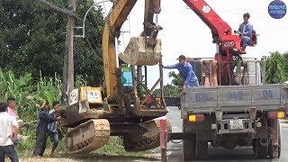 Sức Mạnh Khủng Khiếp Của Xe Cẩu/truck crane strength