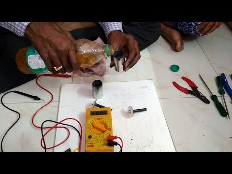 Electricity Generation Using Cow Urine Part-1