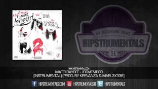 Matti Baybee - I Remember [Instrumental] (Prod. By Keenanza & MARL3Y336) + DOWNLOAD LINK