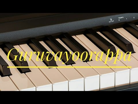 Guruvayoorappa ♫ | Tamil Super Hit Song Notes | Piano 4 U ♫ Cover