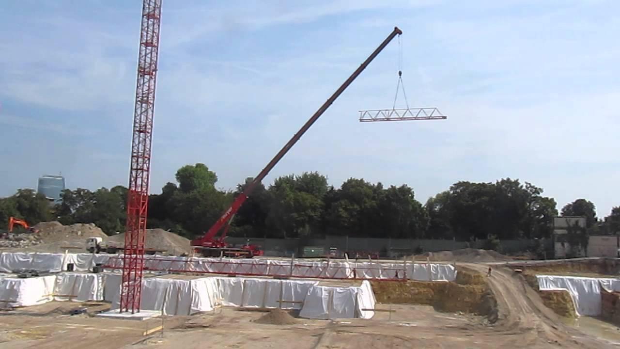 Bauunternehmen Frankfurt kranaufbau stadtgärten frankfurt