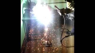 Урок сварщика, резка металла