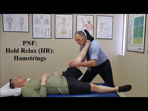 Proprioceptive Neuromuscular Facilitation (PNF) Stretch Hold Relax (HR)