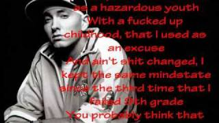 Eminem, Tupac, Nas, DMX - Hate me now - lyrics