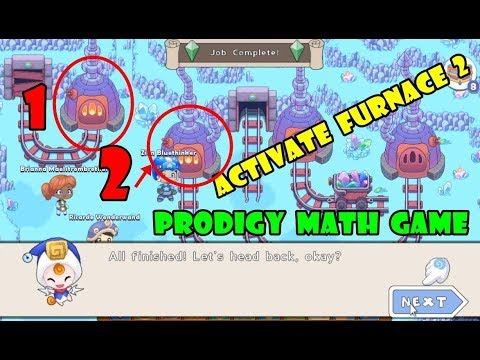 Prodigy Math Game: (ACTIVATE FURNACE 2) | Level 42 | Part 25 - Games For Childrens