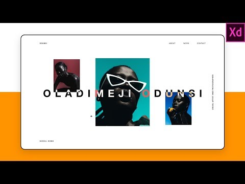 Design and Code a Portfolio Website with Adobe XD