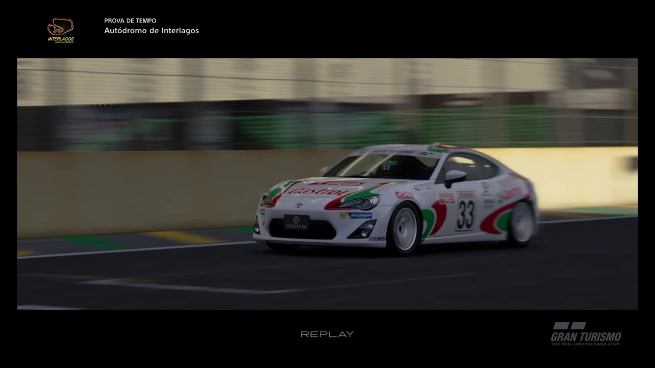 Gran Turismo®SPORT_S do Senna com GT86 - YouTube