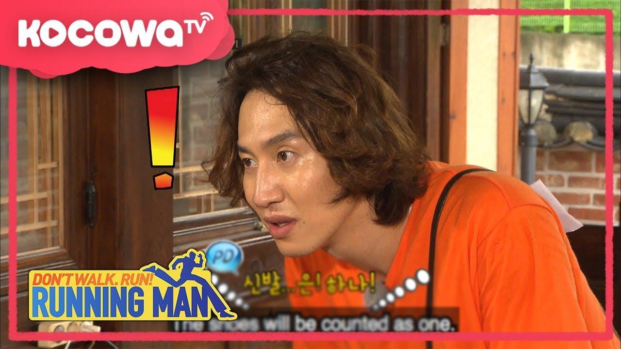 [RunningMan] Ep 366_0903_KwangSoo stole Suk-Jin's stuffs