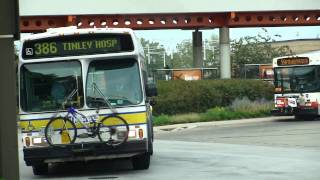 Pace Bus Obi Orion Vi Route Bus Midway Airport Terminal