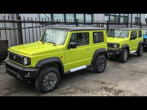 Новый Jimny: чего так дорого? Первый обзор Сузуки Джимни 2019 Suzuki