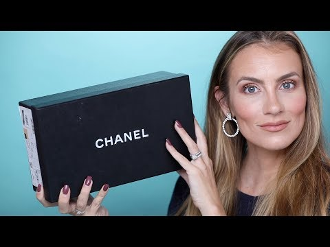 CHANEL UNBOXING! BALLET FLATS REVIEW- SHOULD I RETURN? | ANGELA LANTER