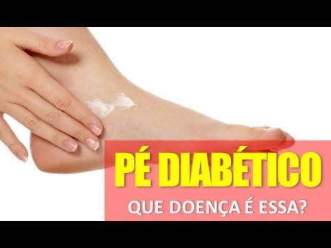 Diabético tratamento de pé