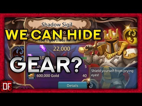 We Can Hide GEAR ... With THE SHADOW SIGIL! - Lords Mobile