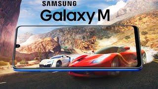 Samsung Galaxy M - NOTCH CITY! Video