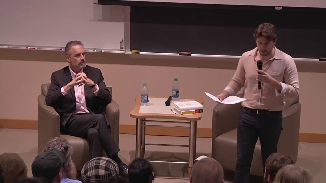 d3382bfbe0833f Lecture and Q A with Jordan Peterson (The Mill Series at Lafayette College)