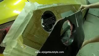 Установка расширения кузова Opel Astra J GTC