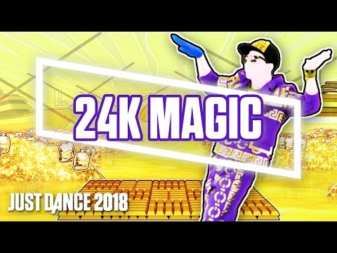 Just Dance 2018: 24K Magic by Bruno Mars | Official Track Gameplay [US]