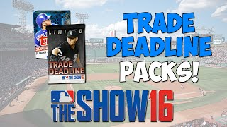 Trade Deadline Pack Opening! | MLB The Show 16 Diamond Dynasty - Flashback Pull!