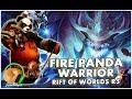 SUMMONERS WAR : Fire Panda Warrior - Rift of Worlds R5 (Xiong Fei)