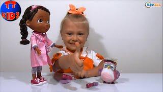 ✔ McStuffins  Unboxing a new Doll Yaroslava | Кукла Доктор Плюшева - подруга Ярослава Серия 53