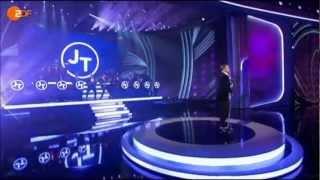 JUSTIN TIMBERLAKE  Mirrors - 23. Februar 2013 -   Wetten, dass...? «The 20/20 Experience»