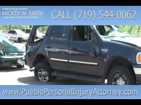 Pueblo Car Accident Injury Attorney Mickey Smith - Colorado