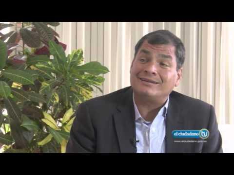Entrevista al Señor Presidente Rafael Correa con Prensa Latina