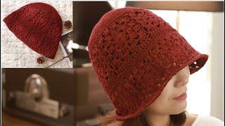 #코바늘/crochet motif hat/코라 모티브 …
