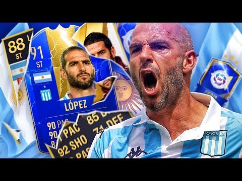 THE FIFA 11 FLASHBACK BEAST!? 91 TEAM OF THE SEASON LOPEZ PLAYER REVIEW! FIFA 19 Ultimate Team
