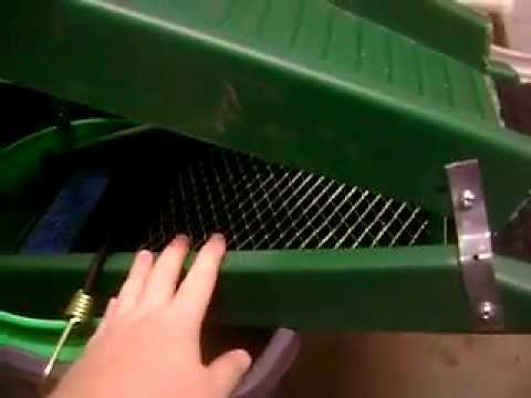 Cheap Homemade Sluice Box Youtube