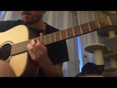 Radiohead - Weird Fishes/Arpeggi (acoustic Guitar Cover)