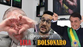 LULA, BOLSONARO E SUA OPINIÃO POLÍTICA