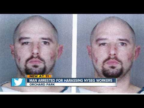Man Arrested For Harassing NYSEG Workers