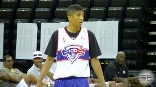 Kenny Smith Jr. Highlights @ NBPA Top 100 Camp [Kenny the JET Smith's SON]