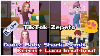 Download lagu Compilation TikTok Zepeto Dance Baby Shark Remix Keren Banget MP3