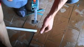Как запаять полипропиленовую трубу с водой