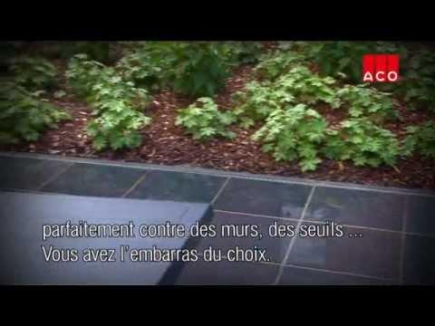 Caniveaux De Drainage  Siphons De Sol Aco Self  Youtube