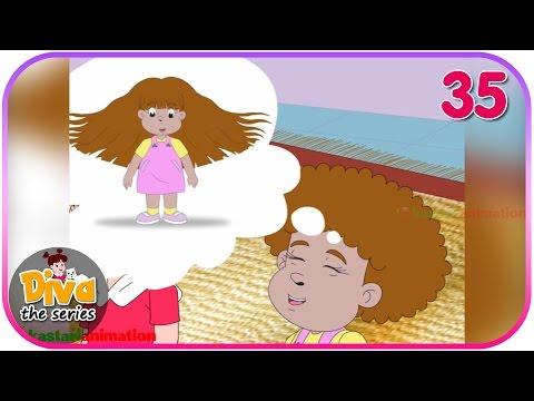Seri Diva | Eps 35 Rambut Keriting Febi | Diva The Series Official