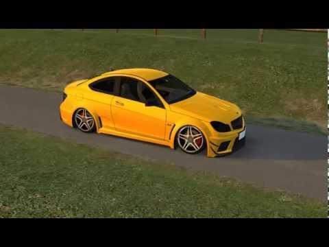 LFS    Mercedes c63 AMG ile gezmeler ...