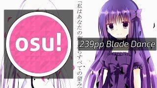 osu!   Ni-Sokkusu - Blade Dance [Kneesocks]   239pp top score!