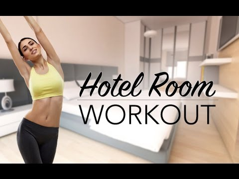Hotel Room Workout (PERFECT FOR DORM ROOMS TOO!!)