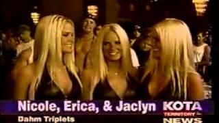 "Playboy ""Dahm Triplets"" Visit Deadwood South Dakota, Sturgis MotorCycle Rally 2001"